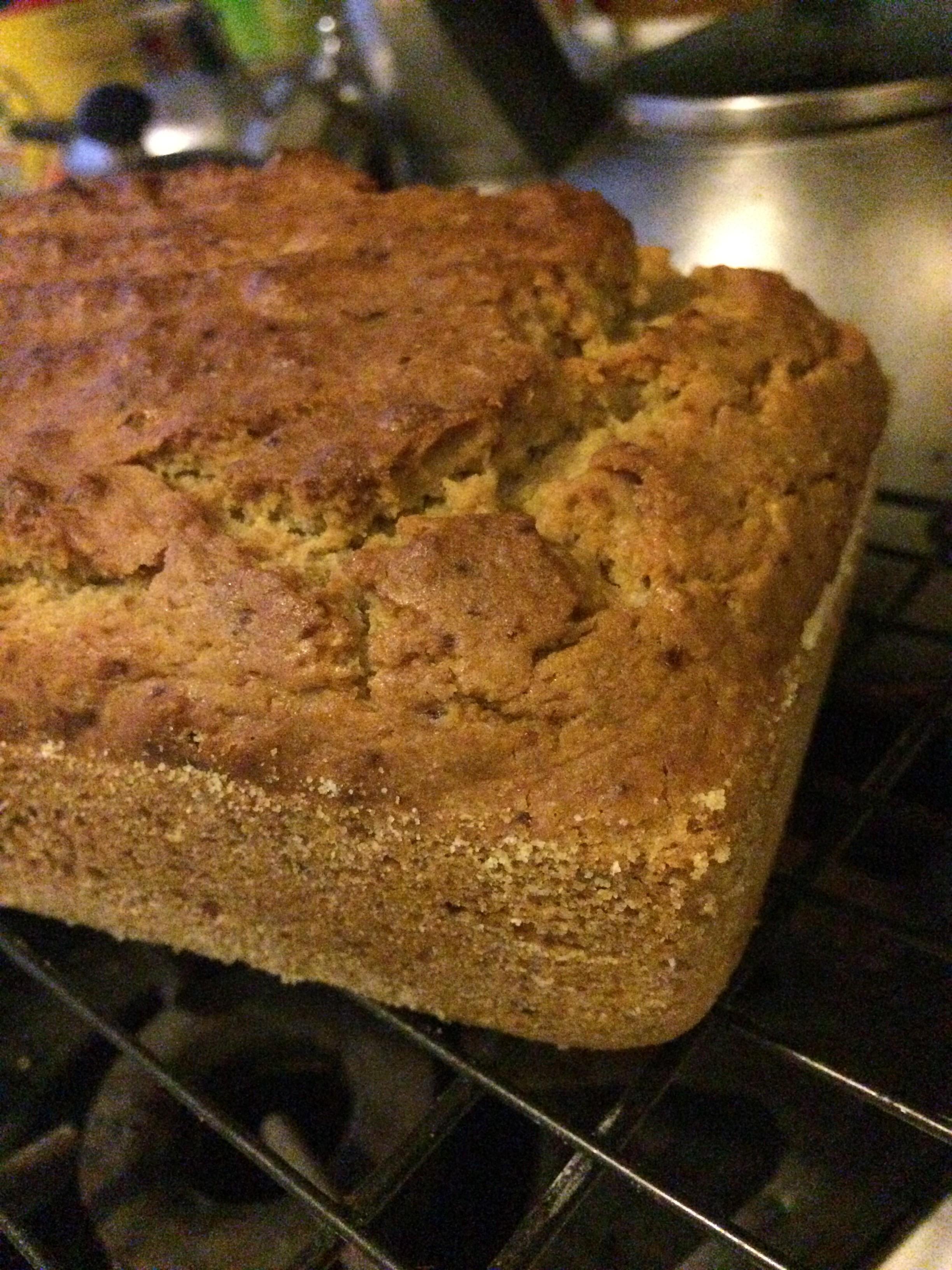 Torta esponjosa de cambur, merienda deliciosa